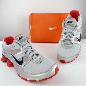 Nike Shox Turbo 11 Metallic Running Sneakers Shoes
